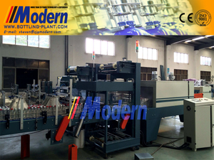 Linear High Speed Shrink Wrap Packing Machine